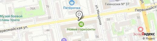Light Line на карте Екатеринбурга