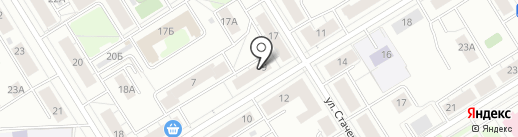 Служба заказа легкового транспорта на карте Екатеринбурга
