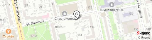 Богиня на карте Екатеринбурга
