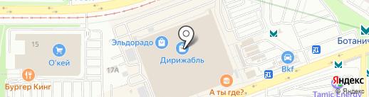 Мегафон Ритейл на карте Екатеринбурга