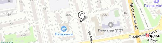 Сервис Лазеров Урала на карте Екатеринбурга