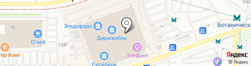 ШапОчки на карте Екатеринбурга