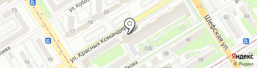 Linen House на карте Екатеринбурга