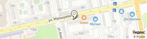 1001dress на карте Екатеринбурга