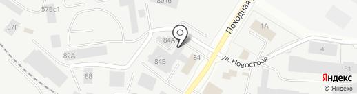 БУКА-СЕРВИС на карте Екатеринбурга