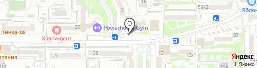 Здорово на карте Екатеринбурга
