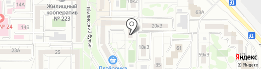 VOUME_BEAUTY_SHOP на карте Екатеринбурга