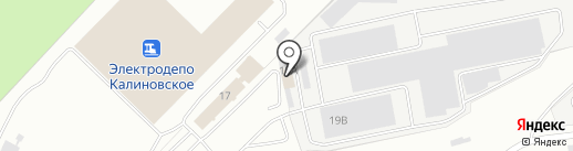 Силлектис на карте Екатеринбурга