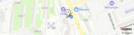 СoffeeIN на карте Екатеринбурга