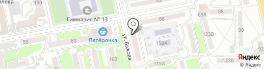 УГМК-Здоровье на карте Екатеринбурга