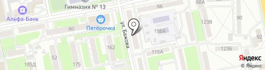 АйТи 911 на карте Екатеринбурга