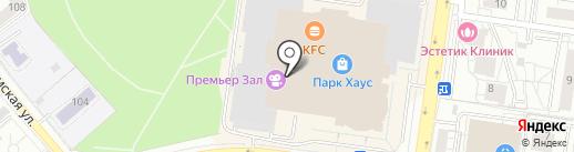 Детский игровой центр на карте Екатеринбурга