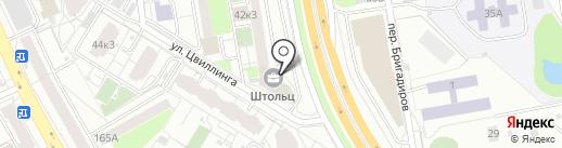 BODYBURG на карте Екатеринбурга
