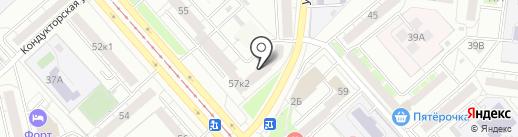 Ключ Сервис на карте Екатеринбурга