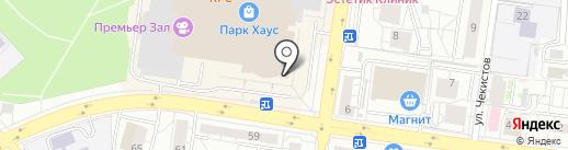 Cristanval на карте Екатеринбурга