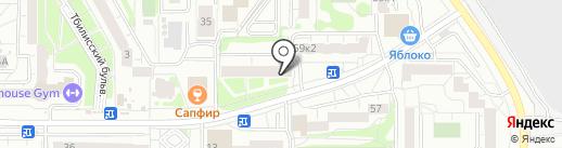 Рахат на карте Екатеринбурга