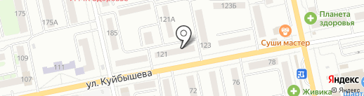 PARIS на карте Екатеринбурга