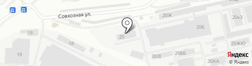 Аксель-Кидс на карте Екатеринбурга