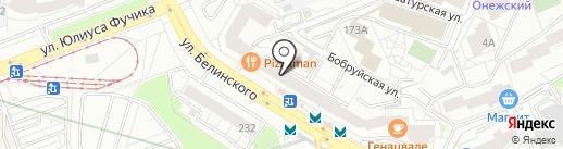 Суши Wok на карте Екатеринбурга