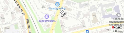 Адвокатский кабинет Шадрина Д.Н. на карте Екатеринбурга