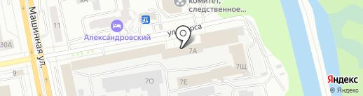 Сносим.ком на карте Екатеринбурга
