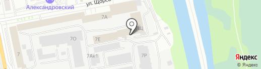 КРОКУС на карте Екатеринбурга