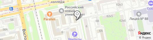 MacFlowers на карте Екатеринбурга