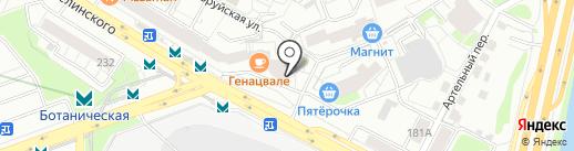 Магазин детской одежды на карте Екатеринбурга