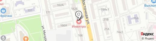 АСТРОЙ на карте Екатеринбурга