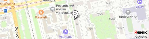 Центр гигиены и эпидемиологии в Свердловской области на карте Екатеринбурга