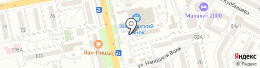 Равис-птицефабрика Сосновская на карте Екатеринбурга