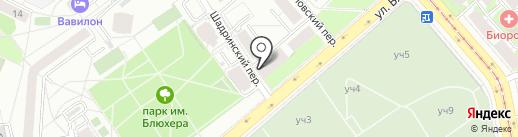 АвтоИномарка на карте Екатеринбурга