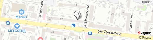I-Rem на карте Екатеринбурга