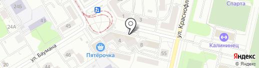 Детский бутичок на карте Екатеринбурга