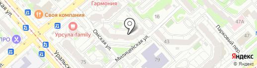 ГЕНИЙ на карте Екатеринбурга