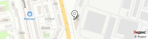 ЭМКО-Рус на карте Екатеринбурга
