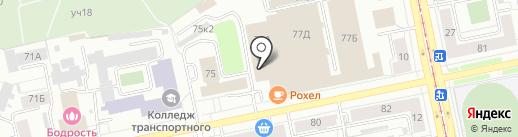 Раздолье на карте Екатеринбурга