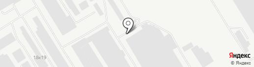 РежТяжСтрой на карте Екатеринбурга