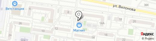 Деловой настрой на карте Екатеринбурга