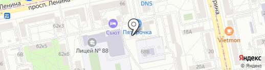 КоРос-Строй на карте Екатеринбурга