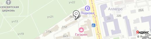 Экогеоэксперт на карте Екатеринбурга