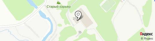Юниор на карте Екатеринбурга