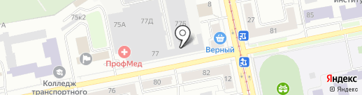 ТСМ-Строй на карте Екатеринбурга