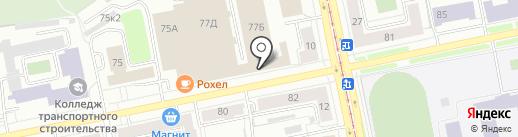 Pit Stop на карте Екатеринбурга