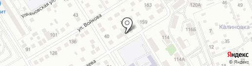 СТО 51 на карте Екатеринбурга