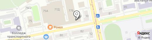 Управление Коммерческой Недвижимости на карте Екатеринбурга
