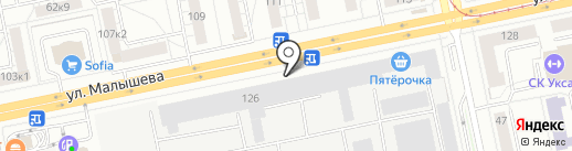ChipUnits на карте Екатеринбурга