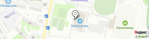 Оздоровительный центр на карте Екатеринбурга