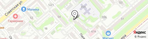 Строй групп на карте Екатеринбурга