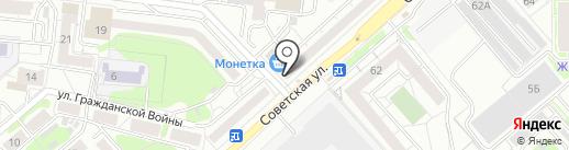 О! Цветы! на карте Екатеринбурга